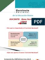 Curricúlo Nacional 2017 -Rosy