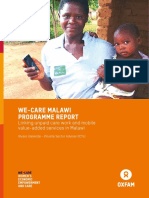 WE-Care Malawi Programme Report