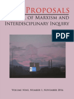 Revista Interdisciplianria de Marxismo 2016 Alienacion