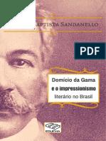 Domício da Gama e o impressionismo literário no Brasil - FB Sandanello.pdf
