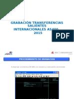 Presentación Grabacion Transferencias Salientes .Ppt