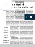 Nurcholish Madjid Indonesian Muslim Inte