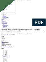 Braulio de Diego - Problemas Oposiciones Matemáticas Vol 2 (81-87)