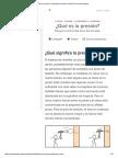 ¿Qué Es La Presión_ _ La Densidad y La Presión _ Fluidos _ Física _ Khan Academy