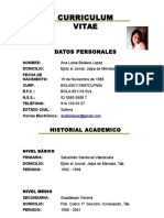 Cv Ana Lubia Bolaina[1]