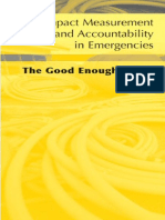 Impact Measurement and Accountability in Emergencies