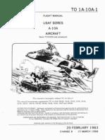 To 1A-10A1 - A-10A Flight Manual