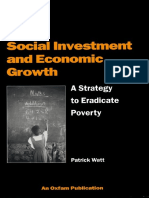Social Investment and Economic Growth