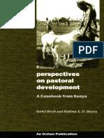 Perspectives on Pastoral Development