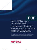 Best Practice in the Recruitment and Employment of Migrant Workers in the Social Care Sector in Merseyside