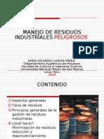 Manejo de Residuos Industriales Peligrosos
