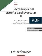 Cardiovascular II - Antiarritmicos