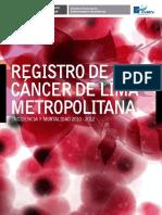 Registro de Cáncer Lima Metropolitana 2010 - 2012_02092016