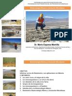Conferencia Inicial Biotecnologia Minera Trujillo Oct2014