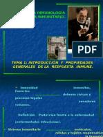 La Inmunología y el sistema inmunitario 2009 Zoraida.
