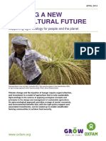 Building a New Agricultural Future