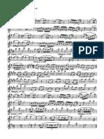 Danza hungara - Danza hungara N°5 alto sax