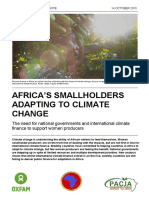 Africa's Smallholders Adapting to Climate Change