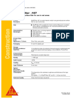 Sika PDS E Sika Filler-107
