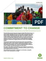 Commitment to Change