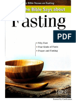 Bible and Fasting