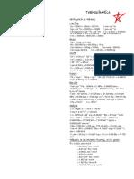 Formulario de Conversión de Unidades y Termodinámica