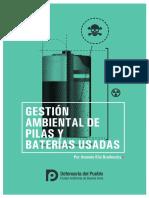 Gestión Ambiental de Pilas y Baterias