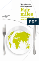 Fair Food Miles: Recharting the food miles map