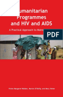 Humanitarian Programmes and HIV and AIDS: A practical approach to mainstreaming