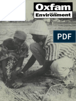 Oxfam and the Environment
