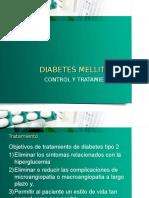 Diabetes Mellitus TX y Control