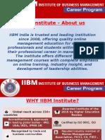 IIBM Institute Presentation (1)
