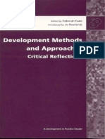 Development Methods and Approaches