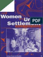 Women and Urban Settlement