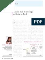 Situação Atual Da Oncologia Pediátrica no Brasil