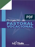 Proyecto de Pastoral Vocacional Lasallista PDF Oficial