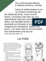Historia de La Psicologia Medica