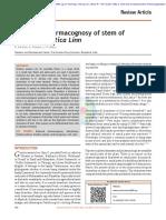00 Botanical Pharmacognosy of stem of Gmelina asiatica.pdf