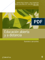 2005 - Educación Abierta y a Distancia. Experiencias y Perspectivas - Universidad de Guadalajara / Sistema de Universidad Virtual
