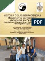 Historia de Las Neurociencias Puebla 2013