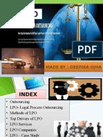 Lpo - Legal process outsourcing & legitimate services