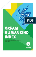 Oxfam Humankind Index: The new measure of Scotland's Prosperity, second results