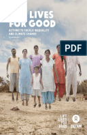 Lift Lives for Good: Actions to tackle inequality and climate change
