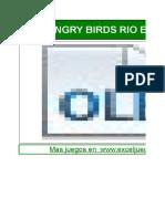 Angry Birds Rio Juego