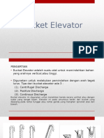 Bucket Elevator & Horizontal Tube Evaporator