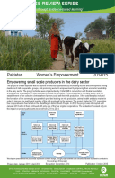 Women's Empowerment in Pakistan: Impact evaluation of the empowering small scale producers in the dairy sector project