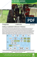 Livelihoods in the Philippines: Impact evaluation of the project 'scaling up sustainable livelihoods in Mindanao'