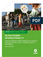 Re-politicising Intersectionality