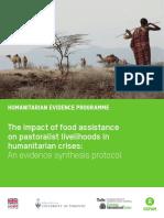 The Impact of Food Assistance on Pastoralist Livelihoods in Humanitarian Crises