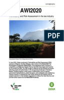 Malawi2020: Vulnerability and Risk Assessment in the tea industry